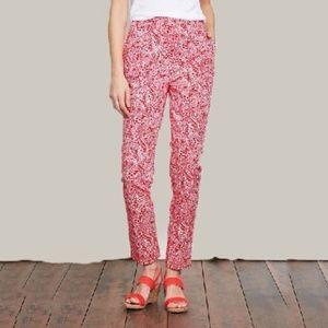Boden Paisley Al Fresco Trousers Size 10